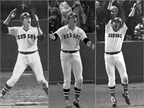 Image result for carlton fisk 1975 world series