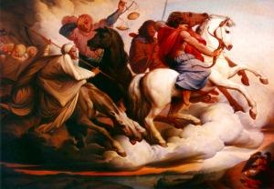 Edward von Steinle - The Four Horsemen of the Apocalypse