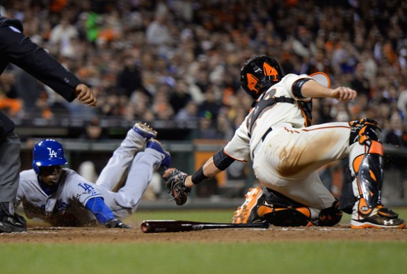 Buster+Posey+Dee+Gordon+Los+Angeles+Dodgers+qOFM3w9bizrl