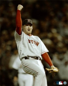 10126562A~Derek-Lowe-2003-ALDS-Game-5-Last-Out-Posters