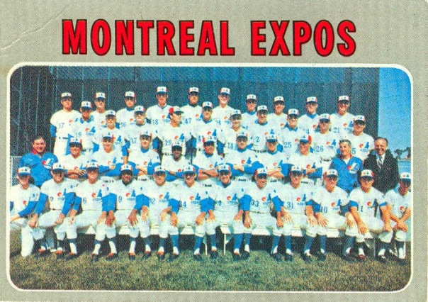 1970 Expos Team (f)