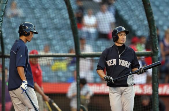 Gosuke+Katoh+New+York+Yankees+v+Los+Angeles+keKRLwFz9Czl