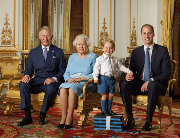 Prince+George+Portrait+Released+Queen+90th+6kxo2Qrhz1Fl