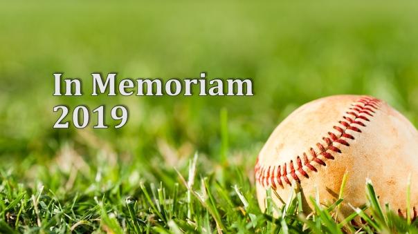 In Memoriam 2019