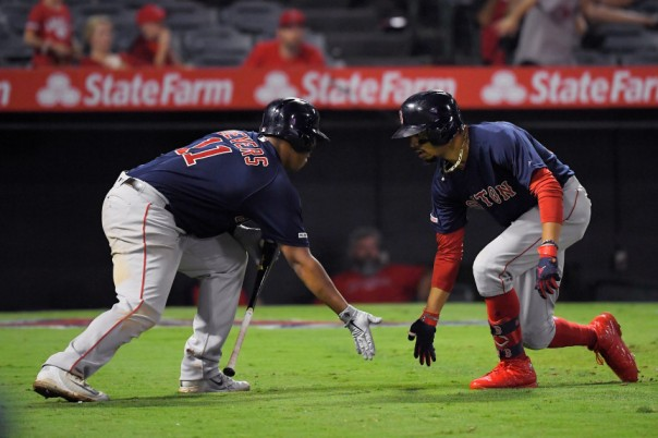 Mookie Betts, Rafael Devers
